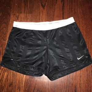 Nike striped shorts